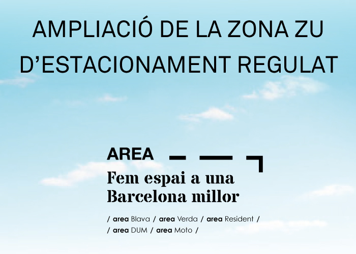 Ampliació de l'estacionament regulat al Districte de Les Corts